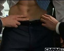Office boy harassed by co workers and forced to strip