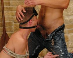See some hot raw fucking with bondage  from Two hunky gays