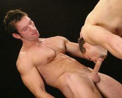 Two handsome and very masucline guys Mattias Solich and Rado doing some kinky sex